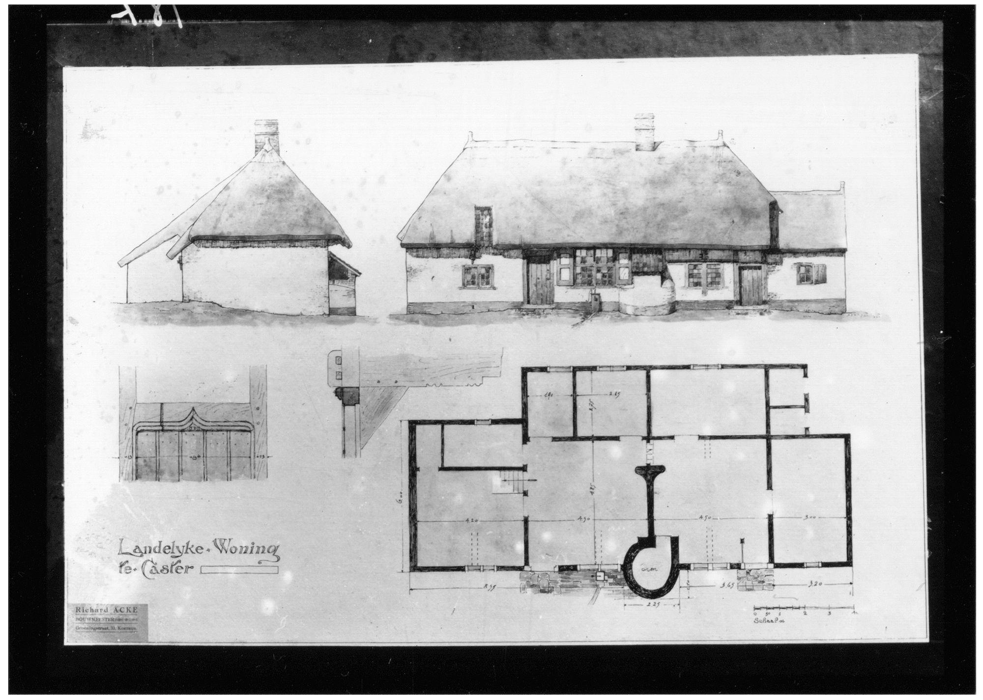 Westflandrica - Ontwerp voor een landelijke woning van Richard Acke