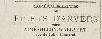 FILETS D'ANVERS
