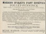 MAGASIN D'OBJETS D'ART CHRETIEN POLLET-PENNINCK