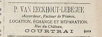 P. VAN EECKHOUT-LEBEGUE