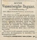 Vanenberghe- Regnier