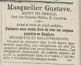 Masquelier Gustave