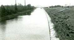 Kanaal Bossuit-Kortrijk in Zwevegem-Knokke 1978