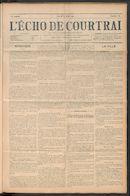 L'echo De Courtrai 1911-08-03