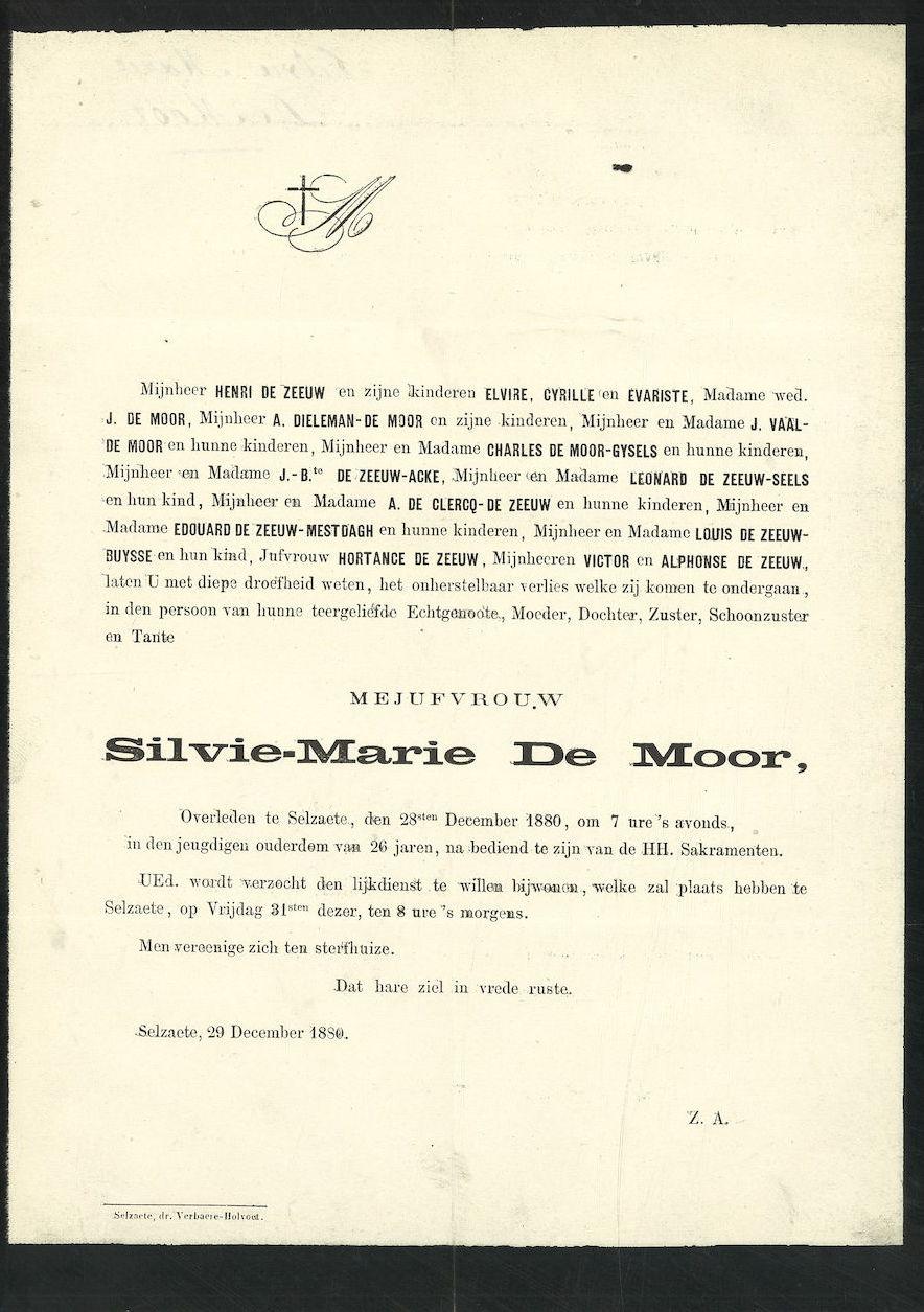 Silvie-Marie De Moor
