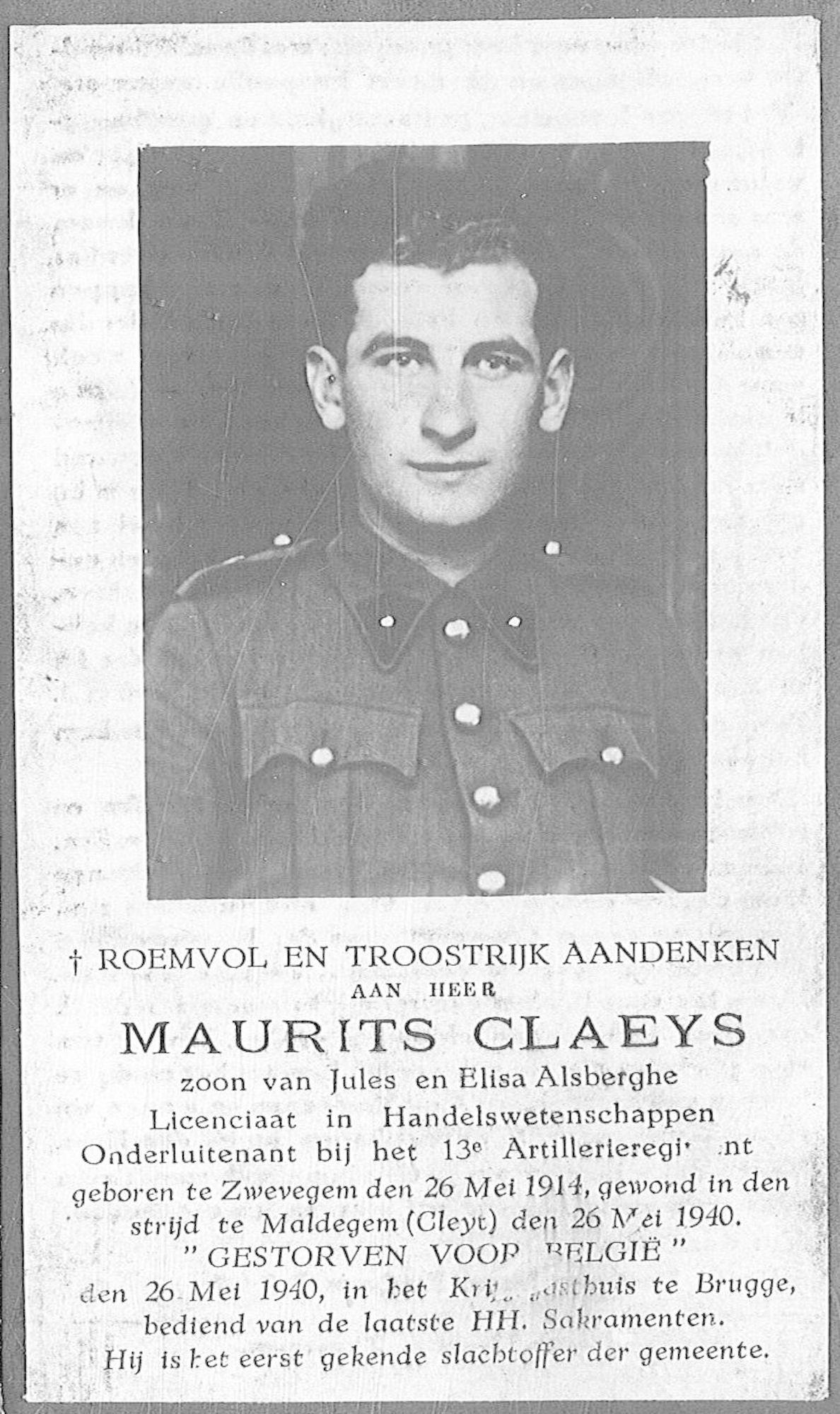 Claeys Maurits