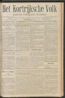 Het Kortrijksche Volk 1910-08-07 p1