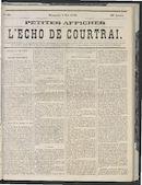 L'echo De Courtrai 1870-05-08 p1