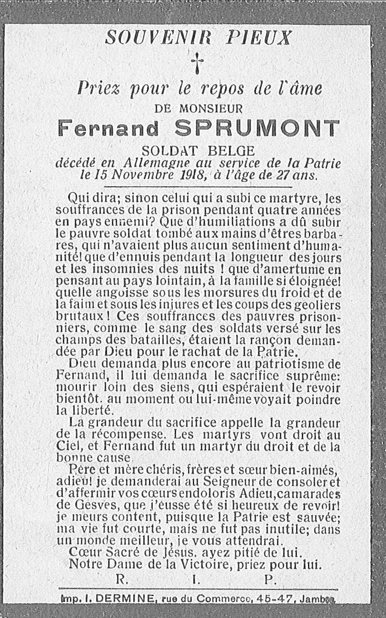 Fernand Sprumont