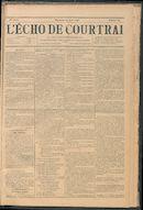 L'echo De Courtrai 1896-08-23