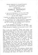 Emile Duthoit (Milo)