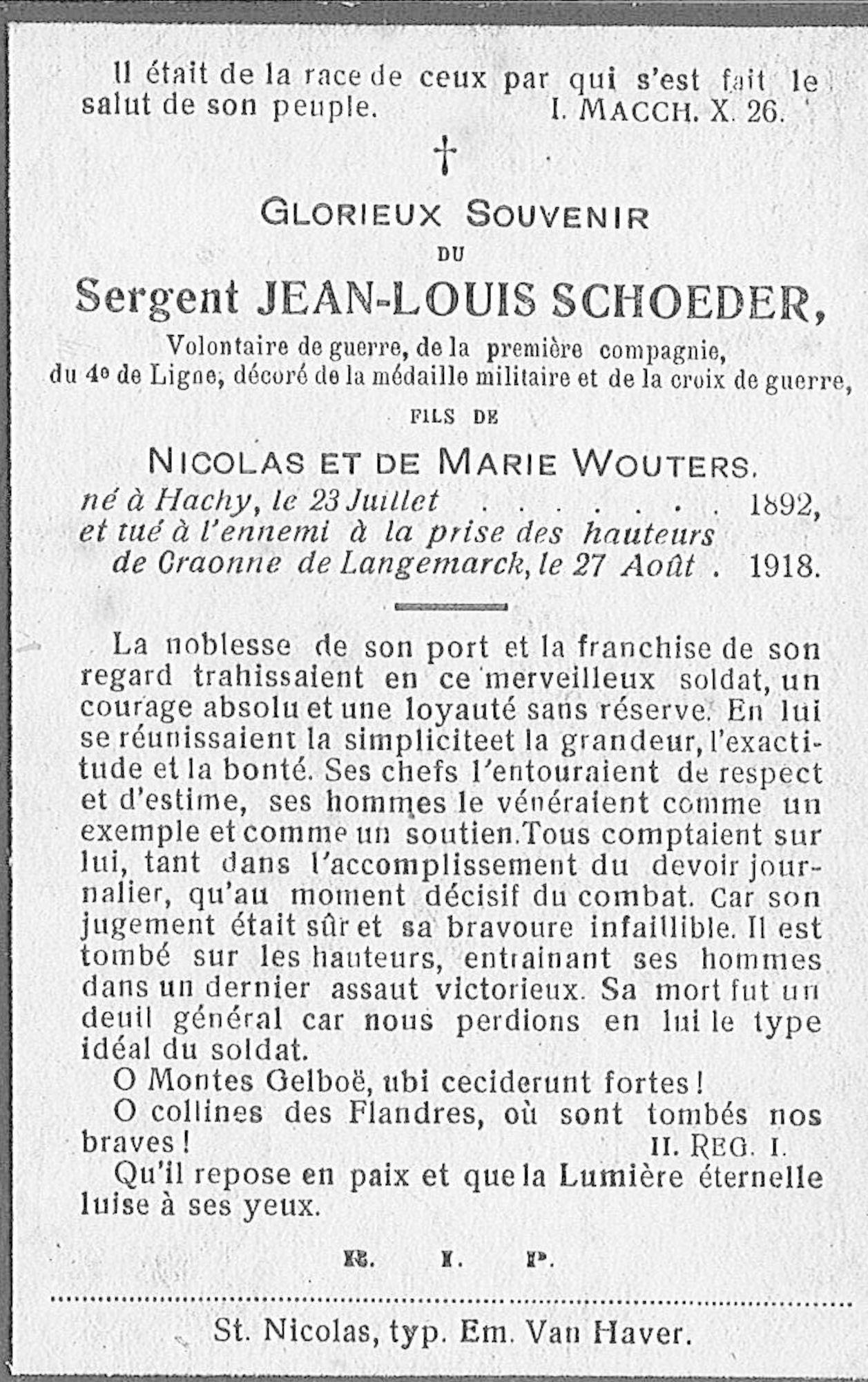 Schoeder Jean-Louis