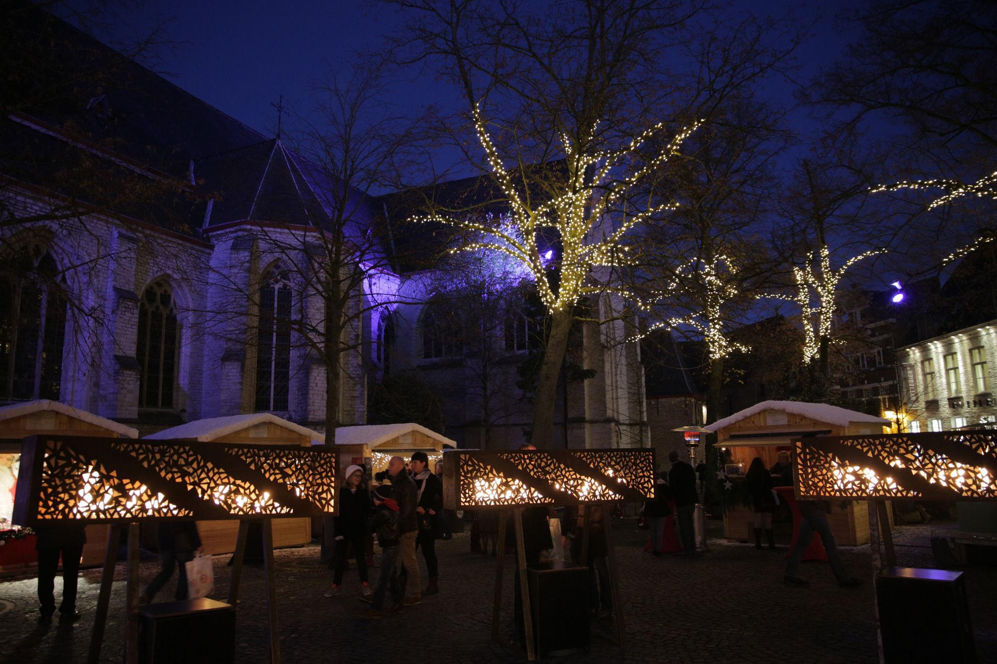 Sfeer Winter in Kortrijk