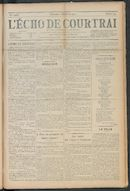L'echo De Courtrai 1910-12-11