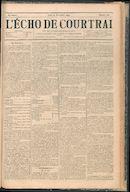 L'echo De Courtrai 1894-11-22 p1