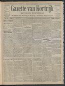 Gazette Van Kortrijk 1908-11-05 p1