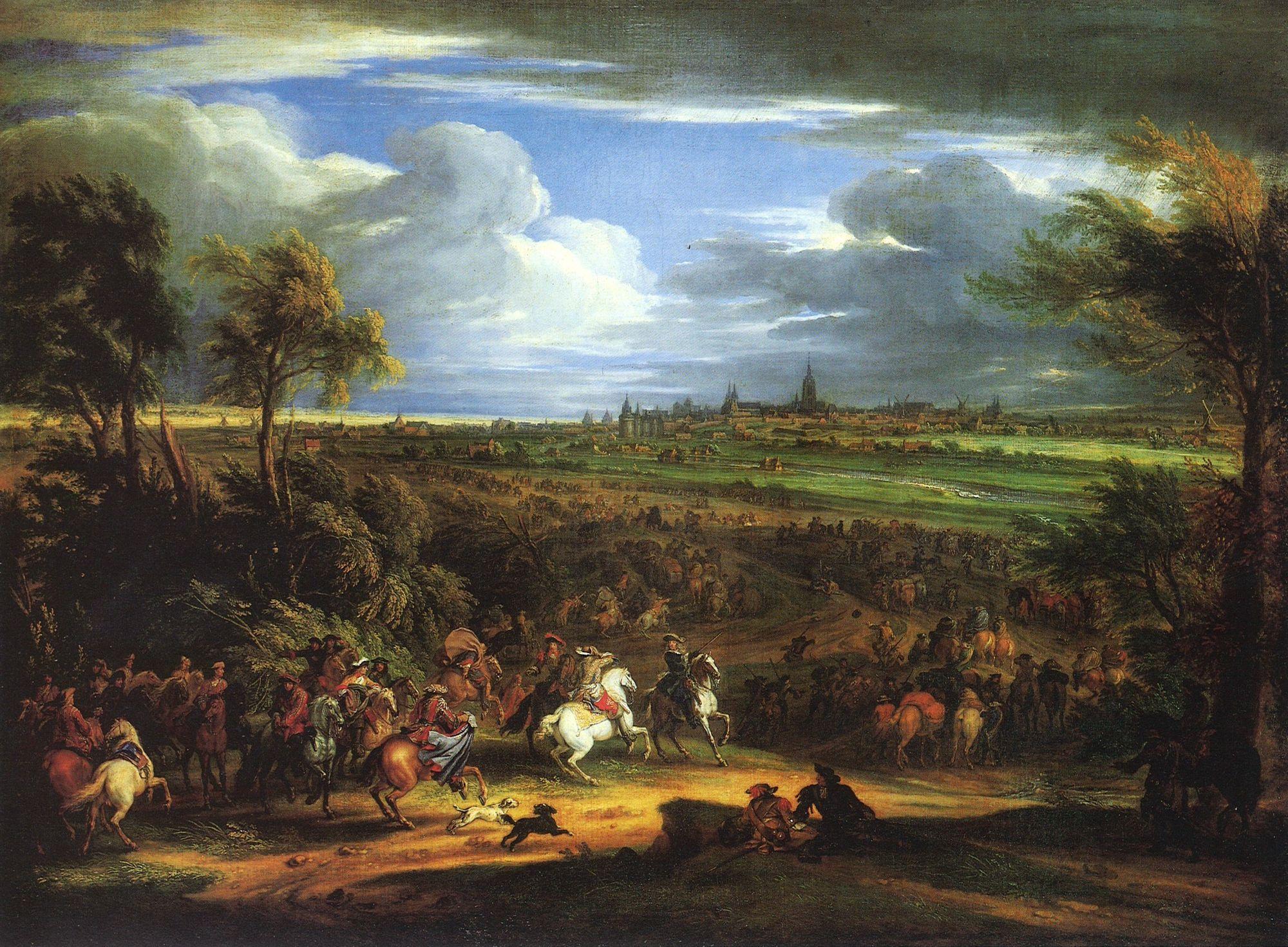 Beleg van Kortrijk in 1667