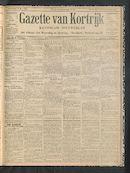 Gazette Van Kortrijk 1900-05-10 p1