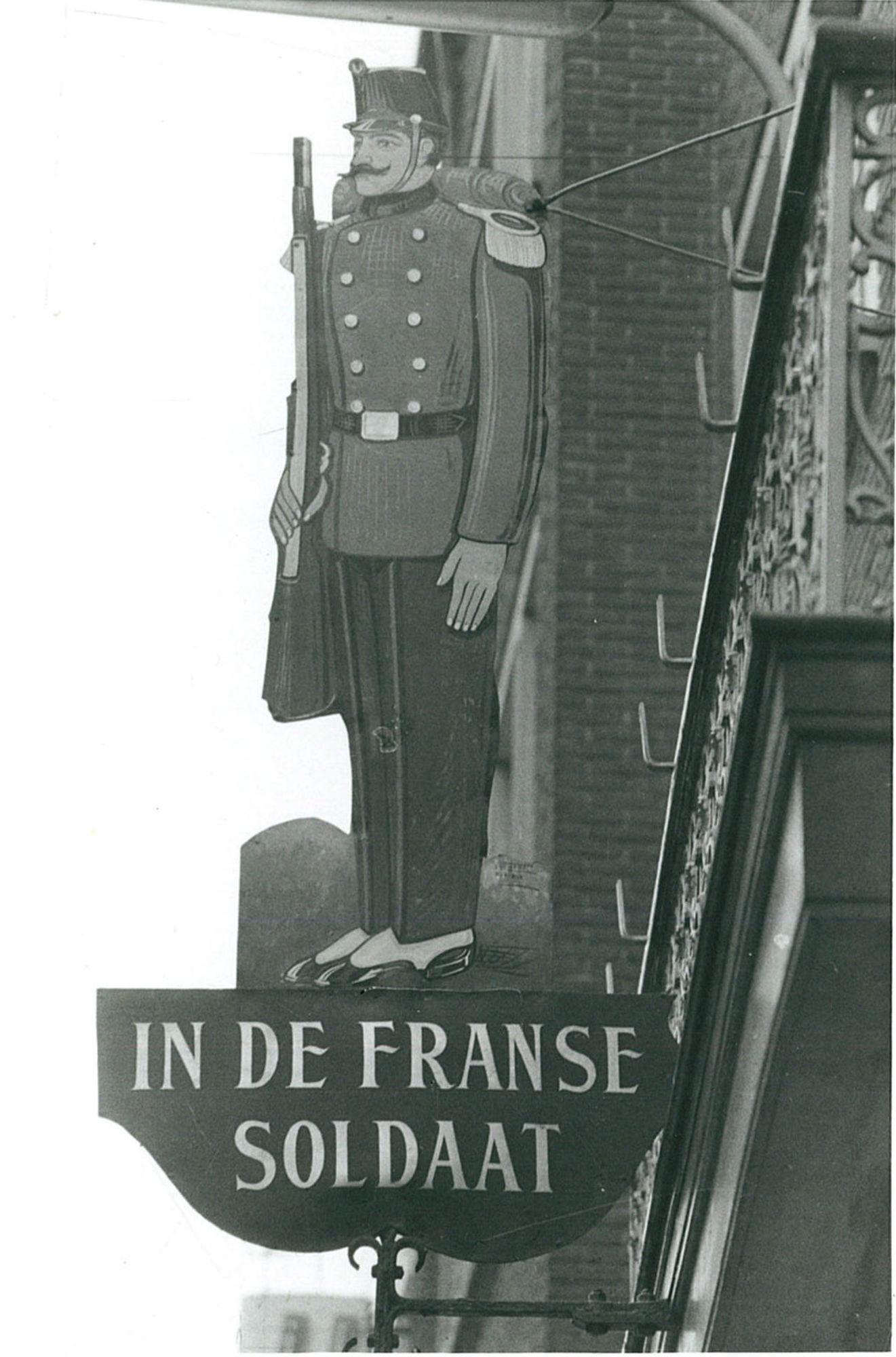 Café In de Franse soldaat