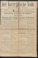 Het Kortrijksche Volk 1914-06-07 p1