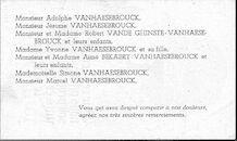 Vanhaesebrouck Emile