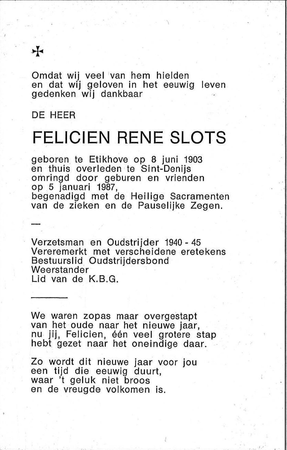 Slots Felicien