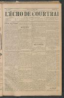 L'echo De Courtrai 1897-03-21 p1