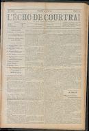 L'echo De Courtrai 1910-04-24 p1