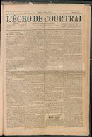 L'echo De Courtrai 1897-10-07 p1