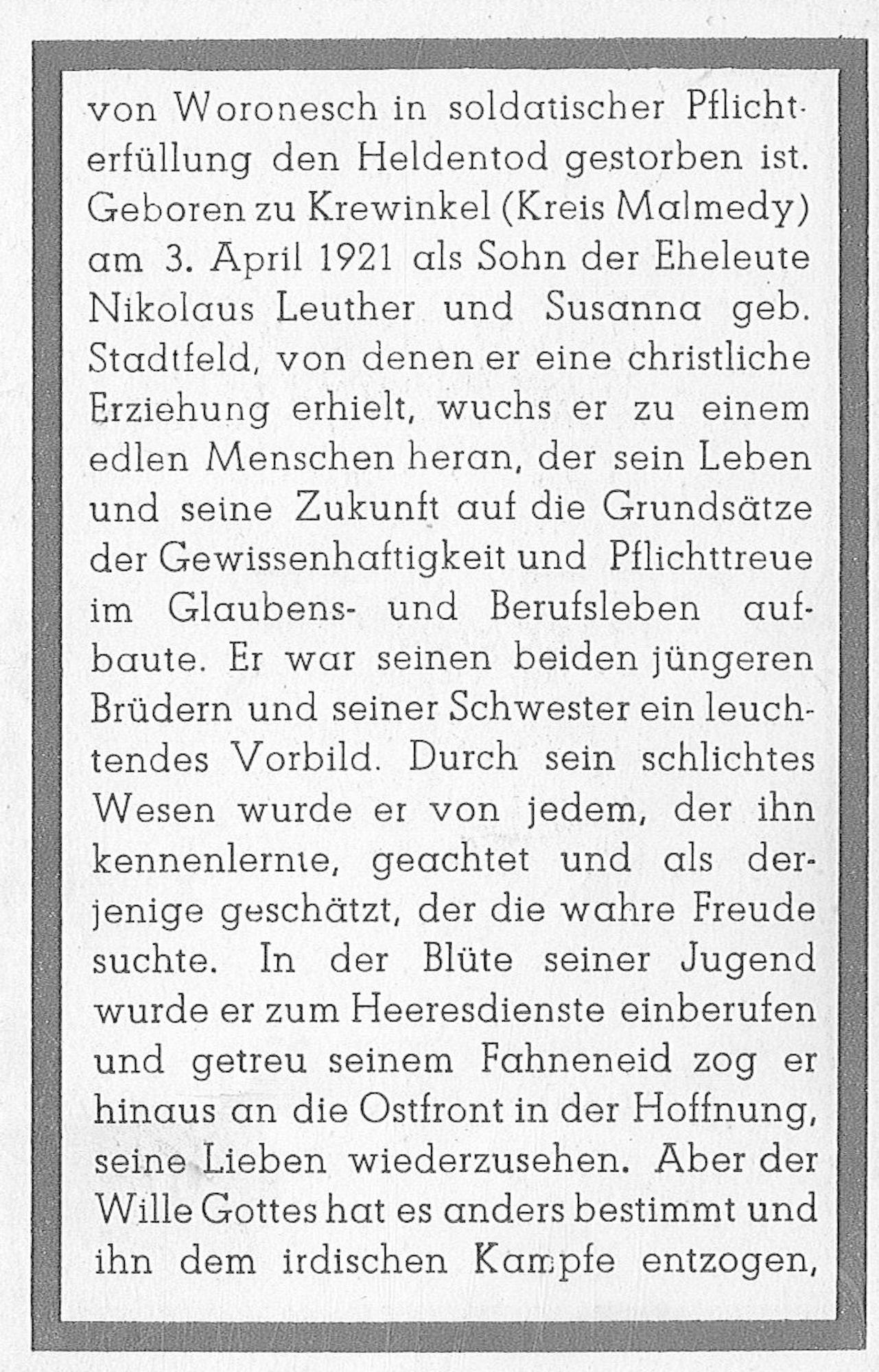 Johann Leuther