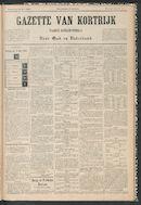 Gazette Van Kortrijk 1884-05-31 p1