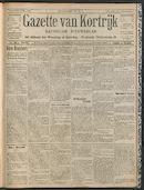 Gazette Van Kortrijk 1909-05-27 p1