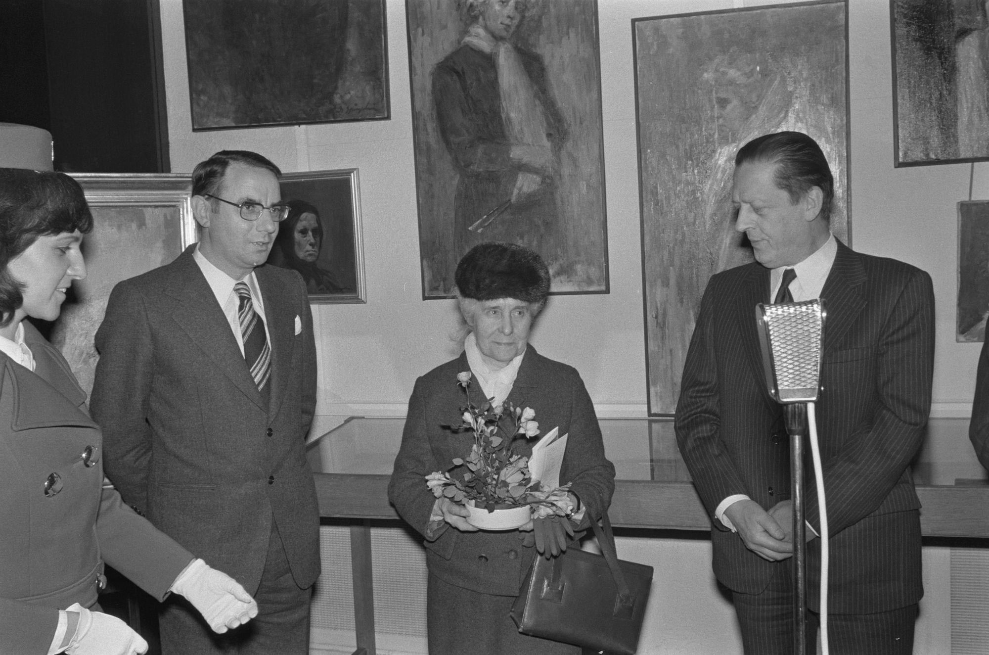 Opening tentoonstelling van Marthe de Spiegeleir