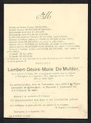 Lambert-Désiré-Marie De Mulder
