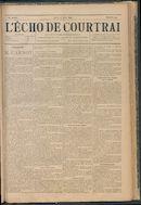 L'echo De Courtrai 1894-06-28 p1
