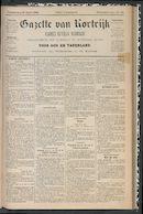 Gazette Van Kortrijk 1888-04-26 p1