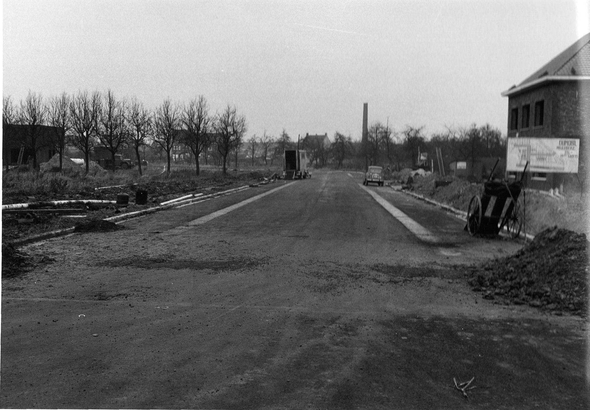 Visserskaai na de werken 1966
