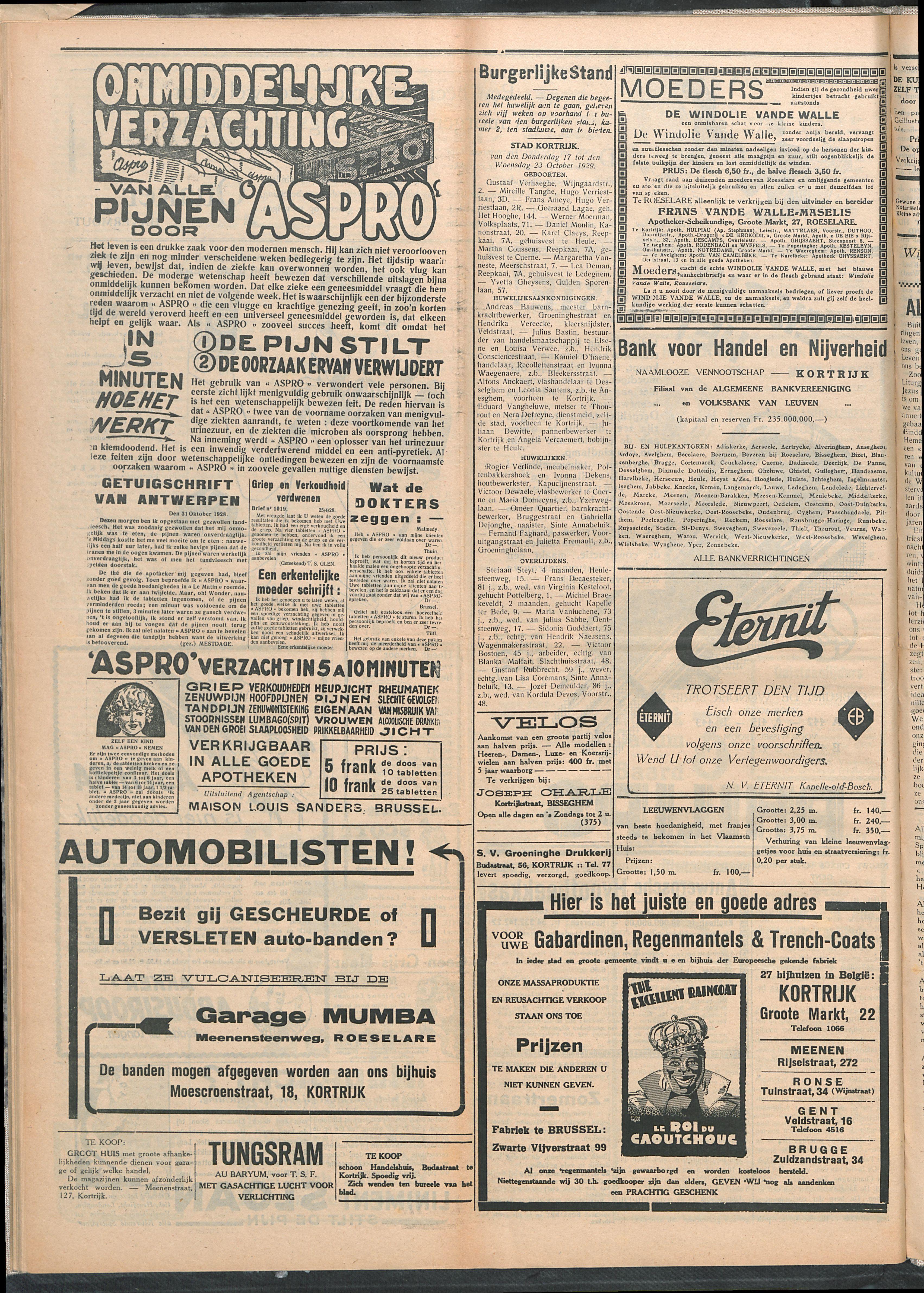 Het Kortrijksche Volk 1929-10-27 p4