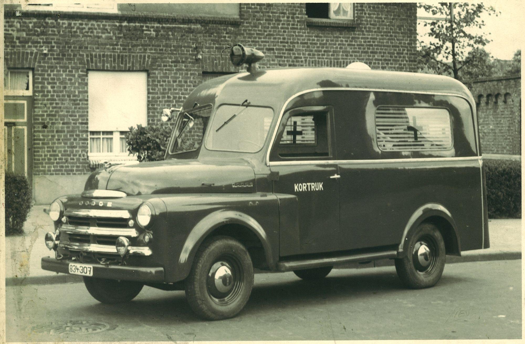 Ambulance van de brandweer