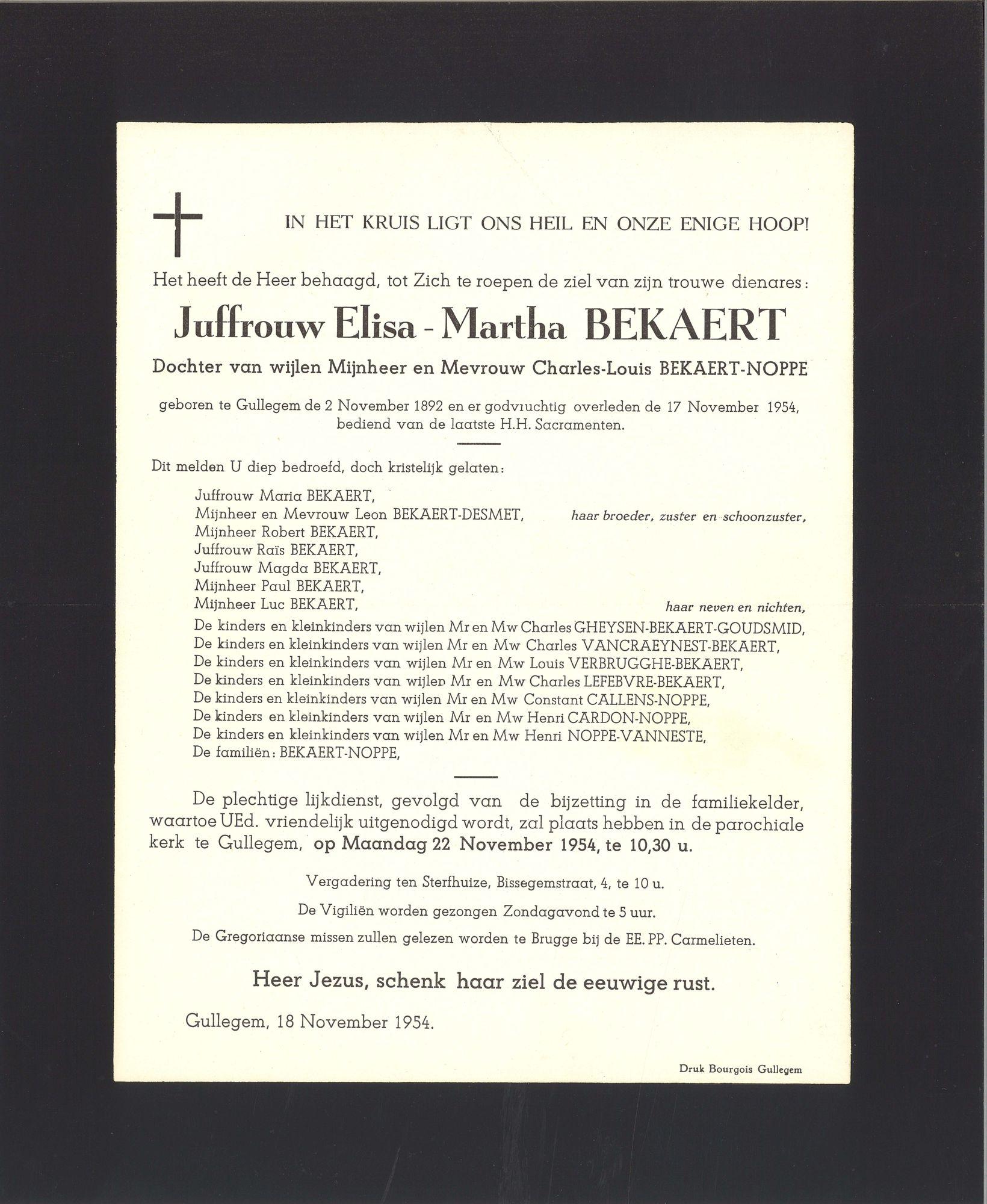 Elisa-Martha Bekaert