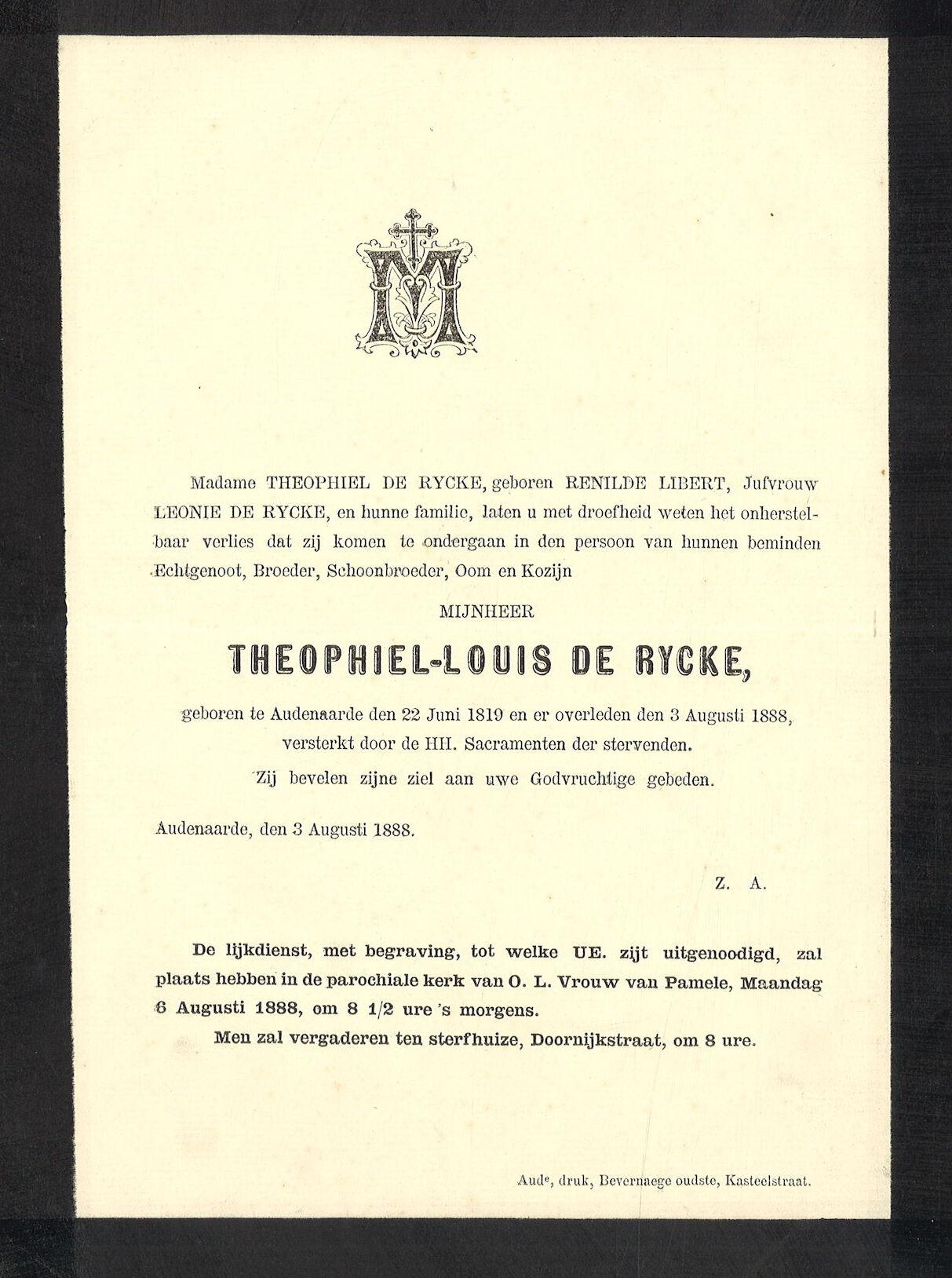 Theophiel-Louis De Rycke