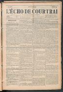 L'echo De Courtrai 1903-05-28 p1