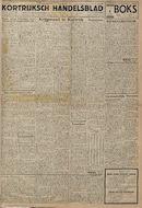Kortrijksch Handelsblad 10 october 1945 Nr81