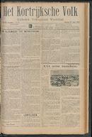 Het Kortrijksche Volk 1913-04-27 p1