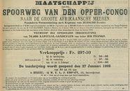 SPOORWEG VAN DEN OPPER CONGO