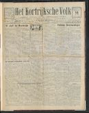 Het Kortrijksche Volk 1926-07-18 p1