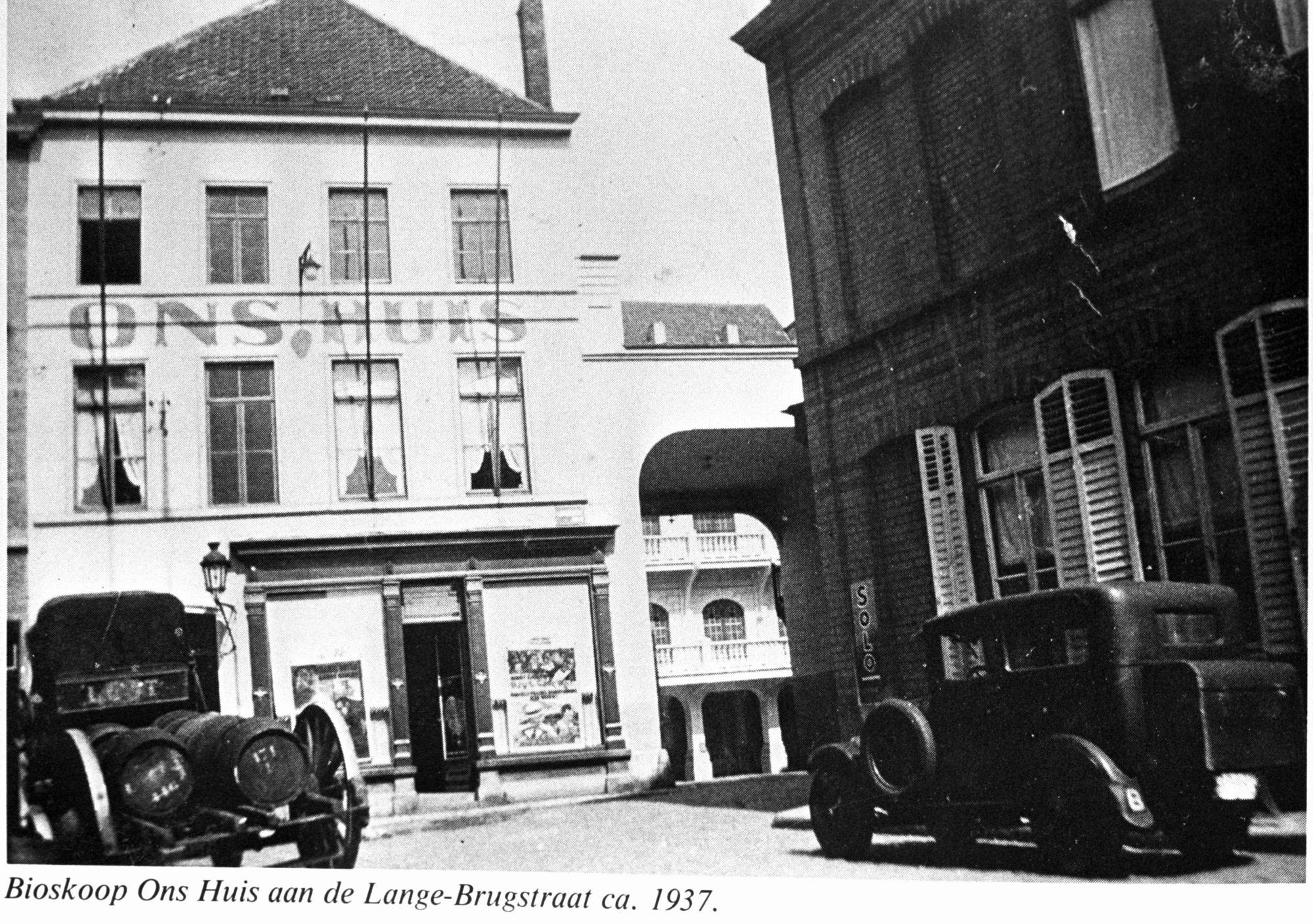 Cinema Ons Huis in 1937
