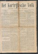 Het Kortrijksche Volk 1907-04-07 p1