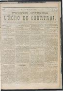 L'echo De Courtrai 1873-10-19 p1