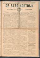 De Stad Kortrijk 1902-08-03 p1